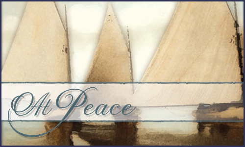 At Peace - Distinctive Stationery