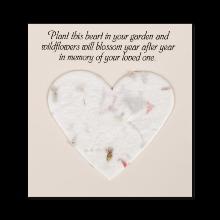 Blooming Memorial Heart