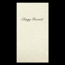 Clergy Records